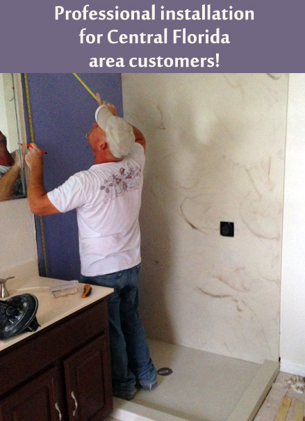 Central Florida Showers Countertops Whirlpool Tubs