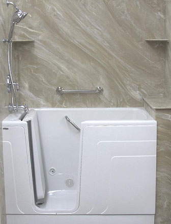 Walk-in Bath Systems and Whirlpool Tubs